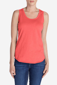 Women's Ravenna Tank Top in Red