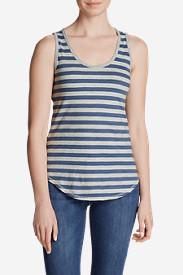 Women's Ravenna Tank Top - Stripe in Blue