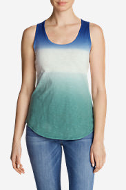 Women's Ravenna Tank Top - Dip Dye in Purple