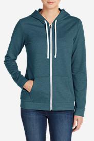 Women's Camp Fleece Full-Zip Hoodie in Green