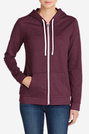 Women's Camp Fleece Full-Zip Hoodie in Purple