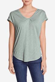 Women's Gatecheck Tunic T-Shirt in Green