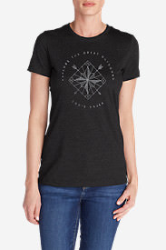 Women's Arrow Lockup Triblend T-Shirt in Black