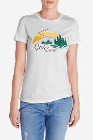 Women's Get Lost Triblend T-Shirt in Gray