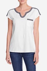 Women's Rosario Beach Pocket T-Shirt in White