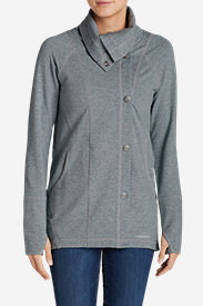Women's Summit Asymmetrical Jacket in Gray