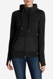 Women's Summit Full-Zip Hoodie in Black