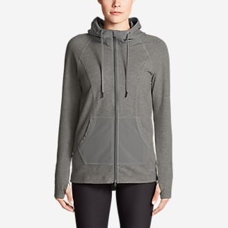Women's Summit Full-Zip Hoodie in Gray