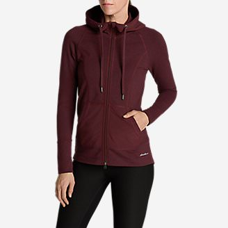 Women's Summit Full-Zip Hoodie in Purple
