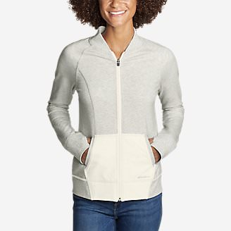 Women's Summit Bomber in Gray