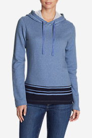 Women's Shoreline Hooded Sweatshirt in Blue