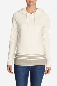 Women's Shoreline Hooded Sweatshirt in White