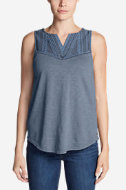 Women's Daybreak Tank in Blue