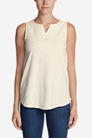 Women's Daybreak Tank in White