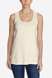 Women's Lola Tunic Tank Top in White