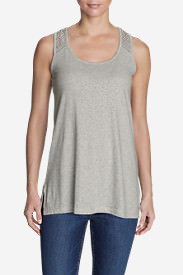 Women's Lola Tunic Tank Top in Gray
