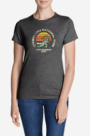 Women's Graphic T-Shirt - Everglades National Park in Gray