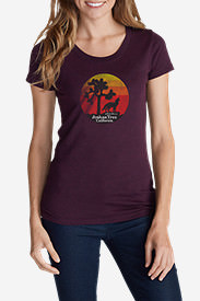 Women's Graphic T-Shirt - Joshua Tree in Purple