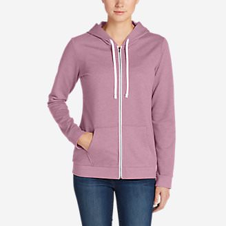 Women's Camp Fleece Full-Zip Hoodie in Purple