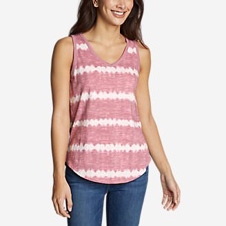 Women's Ravenna Tank Top - Tie Dye in Purple