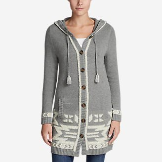 Women's Mount Houghton Sweater Coat in Gray