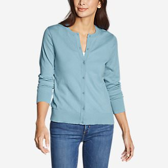 Women's Christine Tranquil Cardigan Sweater in Blue