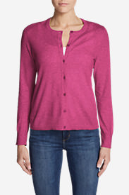 Women's Christine Tranquil Cardigan Sweater in Pink