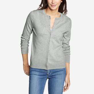 Women's Christine Tranquil Cardigan Sweater in Gray
