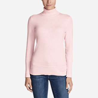 Women's Christine Turtleneck Sweater in Pink