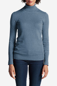 Women's Christine Turtleneck Sweater in Blue