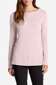 Women's Lux Thermal - Crewneck Sweater in Pink