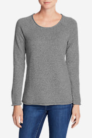 Women's Sweatshirt Sweater - Marl in Gray