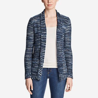 Women's Westbridge Cardigan Sweater in Blue