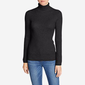 Women's Medina Turtleneck Sweater in Gray