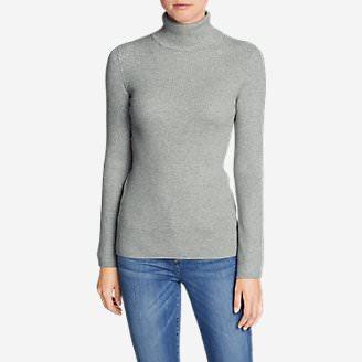 Women's Medina Turtleneck Sweater in Gray