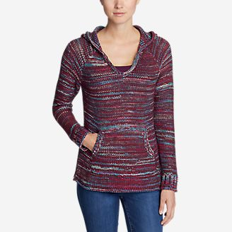Women's Westbridge Pullover Sweater in Red