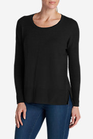 Women's Christine Pullover Sweater in Black