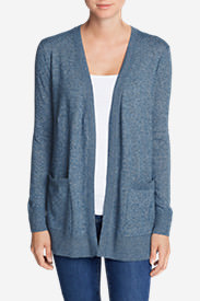 Women's Christine Boyfriend Cardigan Sweater in Blue