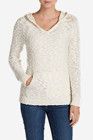Women's Westbridge Hooded Sweater - Solid in White