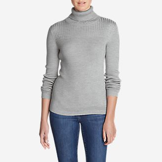 Women's Flightplan Turtleneck Sweater in Gray