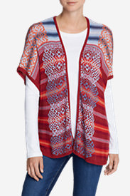 Women's Phoenix Wrap Sweater in Multi