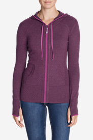 Women's Engage Full-Zip Hoodie Sweater in Red