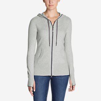 Women's Engage Full-Zip Hoodie Sweater in Gray