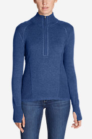 Women's Engage 1/4-Zip Sweater in Blue
