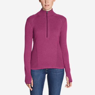 Women's Engage 1/4-Zip Sweater in Red