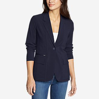 Women's Departure Blazer in Blue