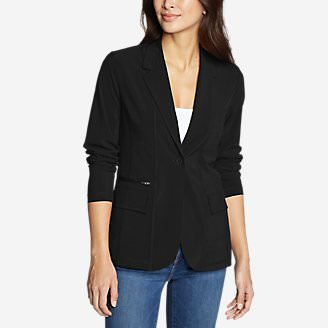 Women's Departure Blazer in Black