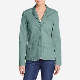 Women's Legend Wash Stretch Blazer in Blue