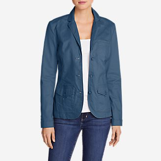 Women's Stretch Legend Wash Blazer in Blue