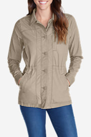 Women's Adventurer Ripstop Scouting Jacket in White